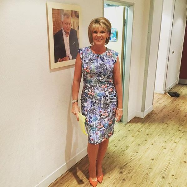 Ruth Langsford Photos: Ruth Langsford Looks Amazing Wearing The Serenity Dress In
