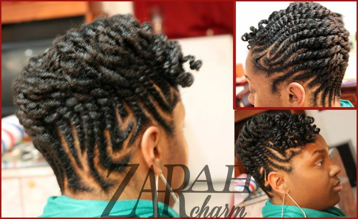 Natural Flat Twist Hairstyles