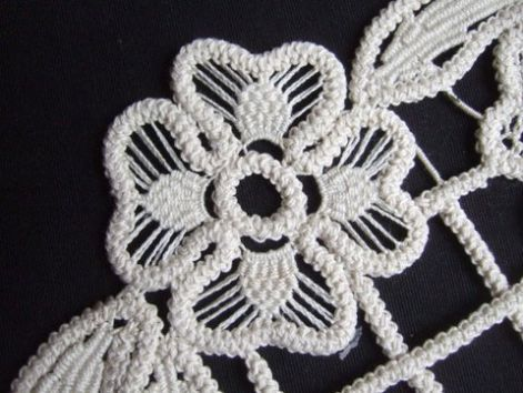 zsinórcsipke ~Romanian Point Lace