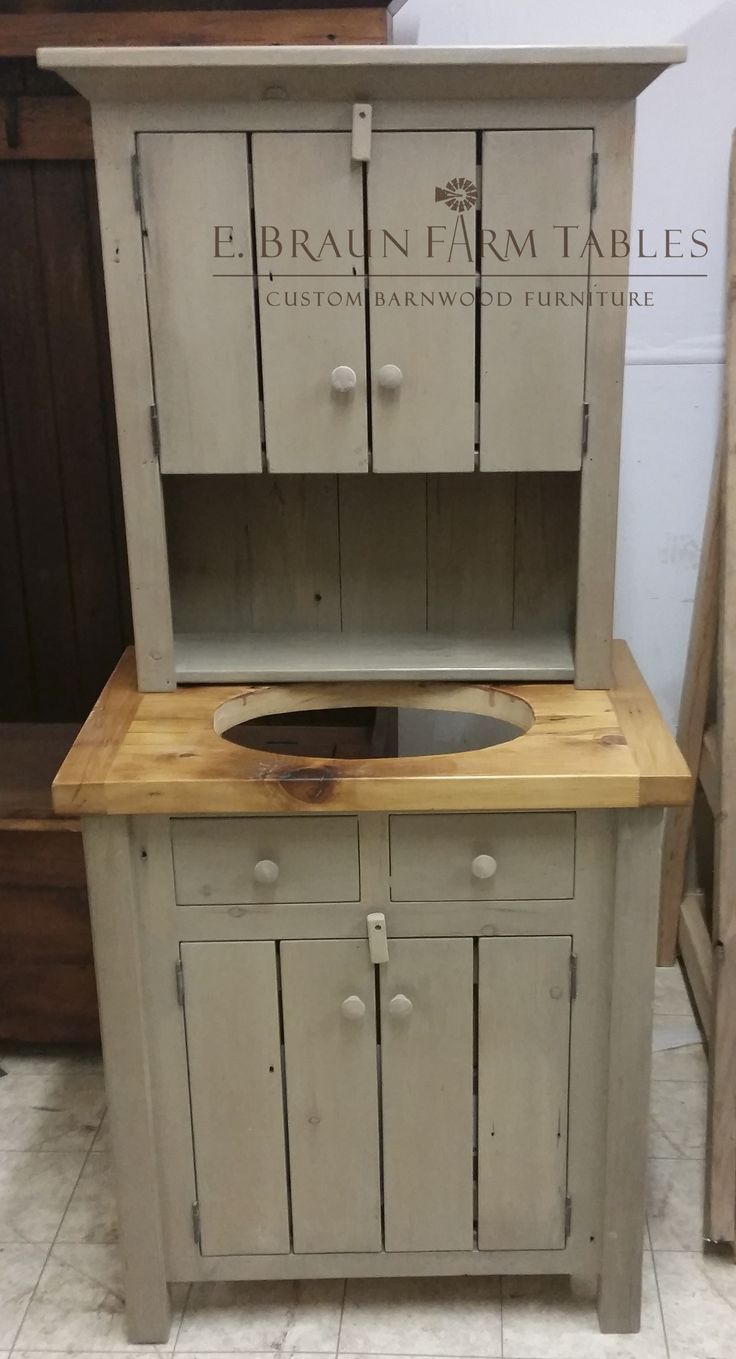 1000 Images About For The Bath Barn Wood Furniture On Pinterest Furniture Vanities And