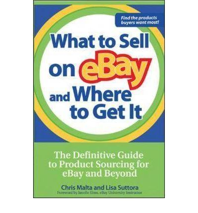 "What to Sell on eBay and Where to Get It: The Definitive Guide to Product Sourcing for eBay and Beyond by Chris Malta & Lisa Suttora . . . read in 2007 . . .""Lisa Suttora knows her stuff and I made a lot of notes while I was reading this. For the person who is selling on eBay, this is well worth the time & money."""