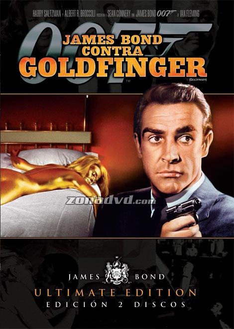 James Bond contra Goldfinger (1964) Reino Unido. Dir: Guy Hamilton. Acción. Aventuras - DVD CINE 533