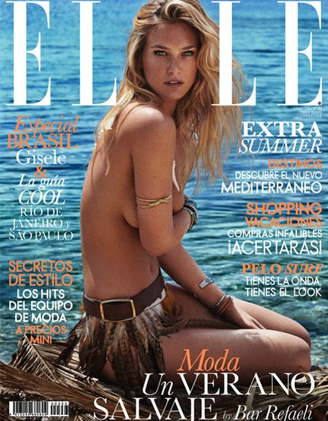 Elle Cover with Bar Rafeli shot by fashion photographer Xavi Gordo represented by 8AM - 8 Artist Management #artistmangement #fashion #editorial  #8artistmanagement #xavigordo ★★ 8AM / 8 Artist Management ★★  more photos in http://8artistmanagement.com/