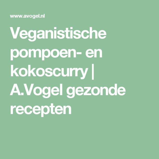 Veganistische pompoen- en kokoscurry | A.Vogel gezonde recepten