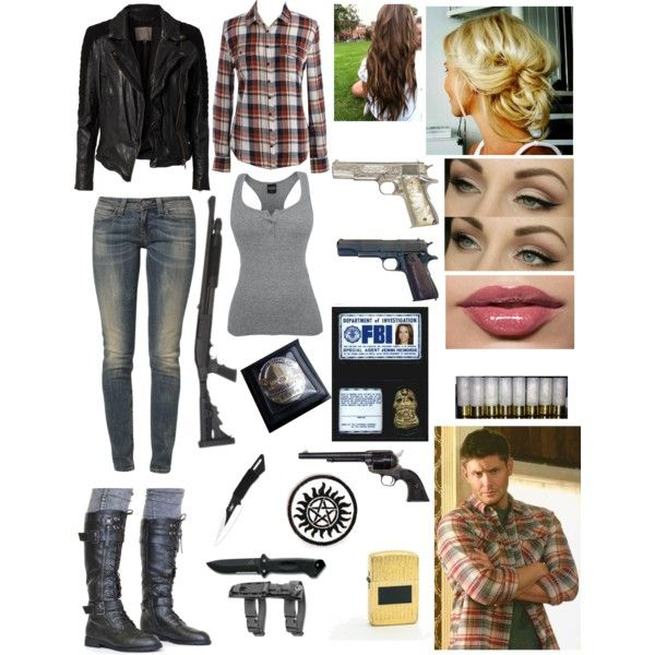 Supernatural (Female) Dean Winchester this is totally my halloween costume