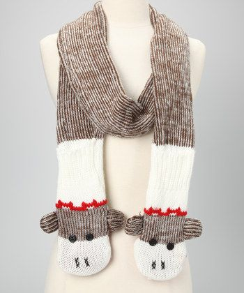 Knitting Patterns For Sock Monkey Clothes : Sock Monkey Sock Monkey Scarf Monkey, Sock monkeys and Sock