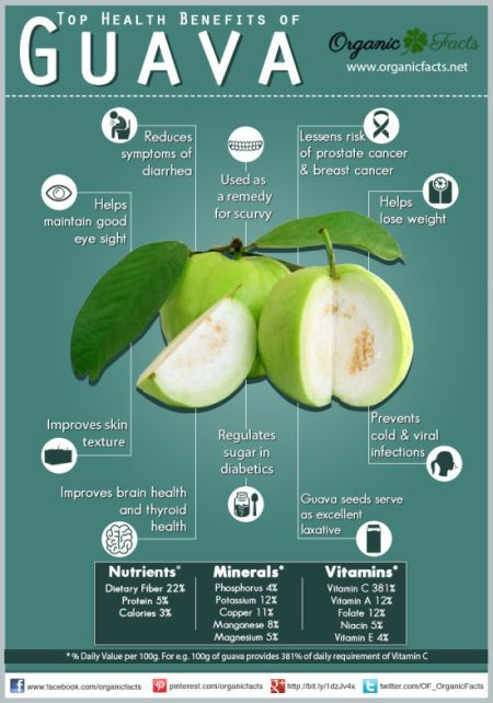 Top Health Benefits of Guava