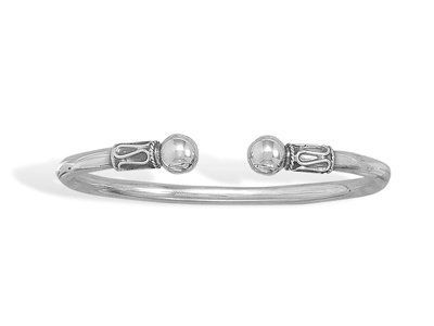 Wave Design/Ball End Cuff Driscoll's Jewelry & Gifts. $71.49