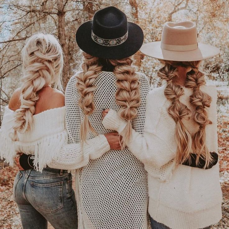 s q u a d goals  fall leaves, sweaters and braids!  styled by @hairby_chrissy @h…  #accessorize #beautyguru #beyondtheponytail #hair #haircrush #hairenvy #hairextensions #hairfashion #hairofinstagram #hairoftheday #hairstyles #hairtrends #holidayhair #infinitybraid #instyle #ipsy #ittakesapro #ponytail #practicemakesperfect #prettyhair #solopeinados #trending #trendingnow #trends #tumblergirl