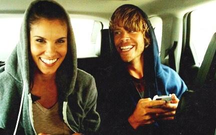 Daniela Ruah and Eric Christian Olsen! aka Kensi and Deeks ...