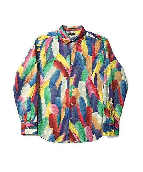 【ZOZOTOWN|送料無料・「ツケ払い」ならお支払は2ヶ月後】Paul Smith COLLECTION(ポール・スミス コレクション)のシャツ/ブラウス「TROPICAL FEATHERS PRINT SHIRT【164384 N8875】」(164384 N8875)を購入できます。
