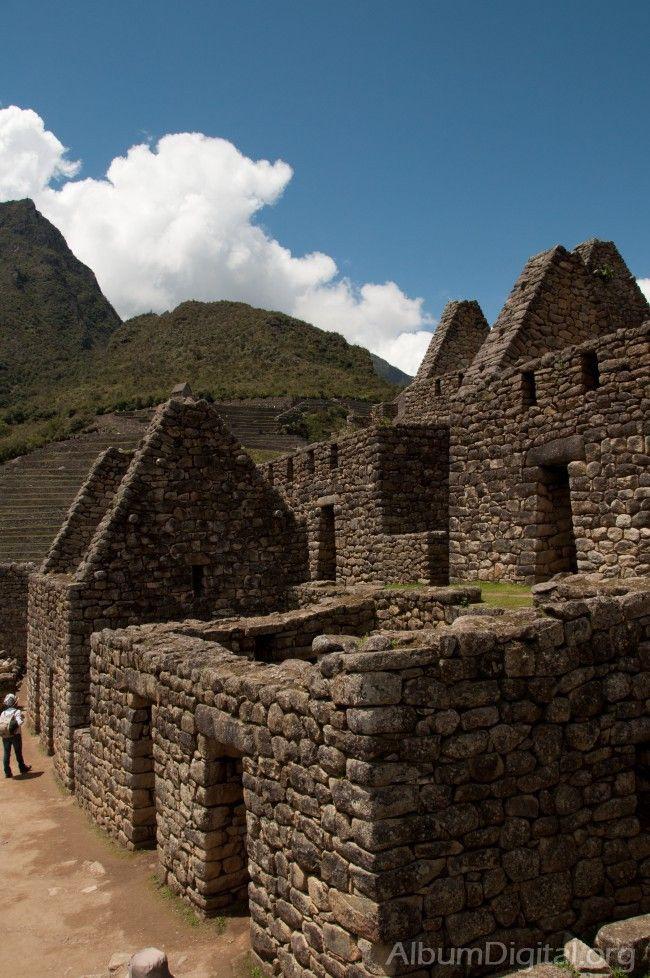 Construcciones en Machu Picchu