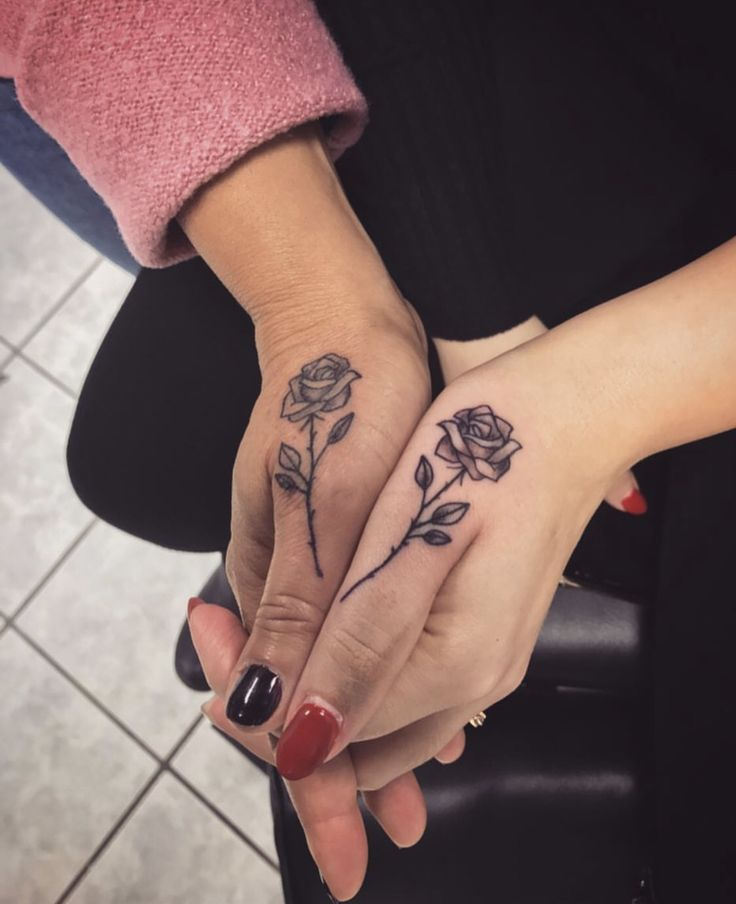 Best friend goals Friendship tattoos, Matching best