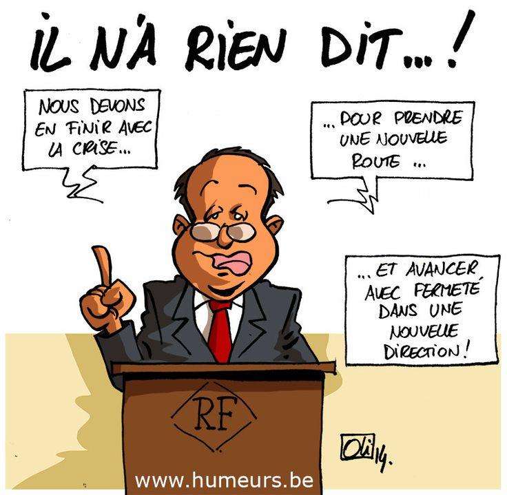 Le virage à droite de François Hollande... et l'affaire Julie Gayet !