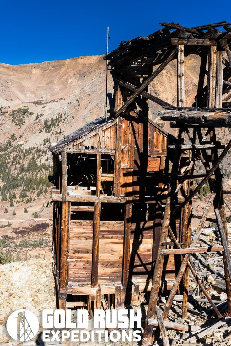 Historic Pennsylvania Gold Mine and Mill – 80 acre Lode Mining Claim for Sale – Keystone, Colorado » Gold Rush Expeditions, Inc.