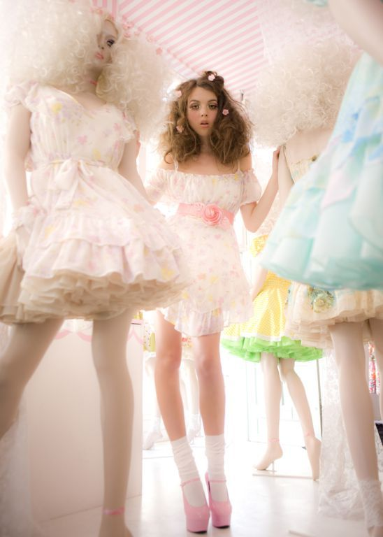 Perfect as an inspiration for photoshoot candy style