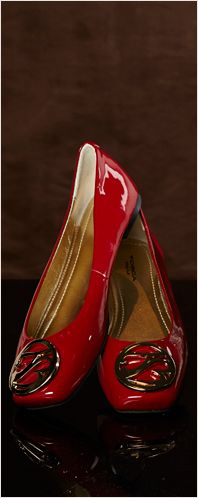 TOSCA BLU - Rode Ballerina's