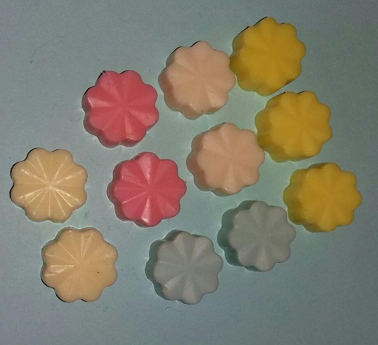 Mini melt flowers