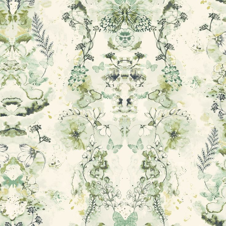 Penelope Green Floral Wallpaper   Bu0026Q For All Your Home And Garden Supplies  And Advice On All The Latest DIY Trends Part 59