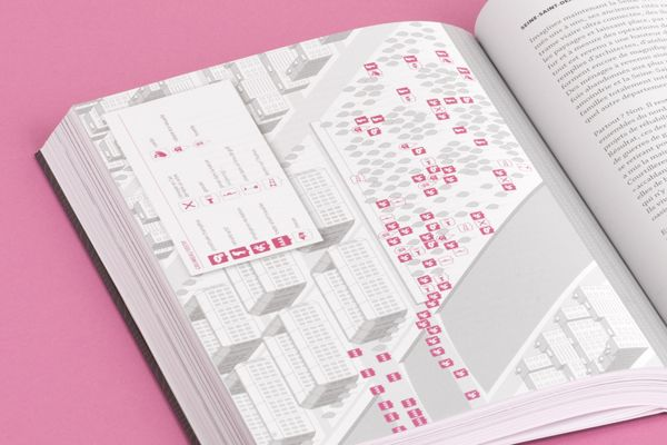 """Le Petit Paris"", urbanism design book, isometric map by me : )"