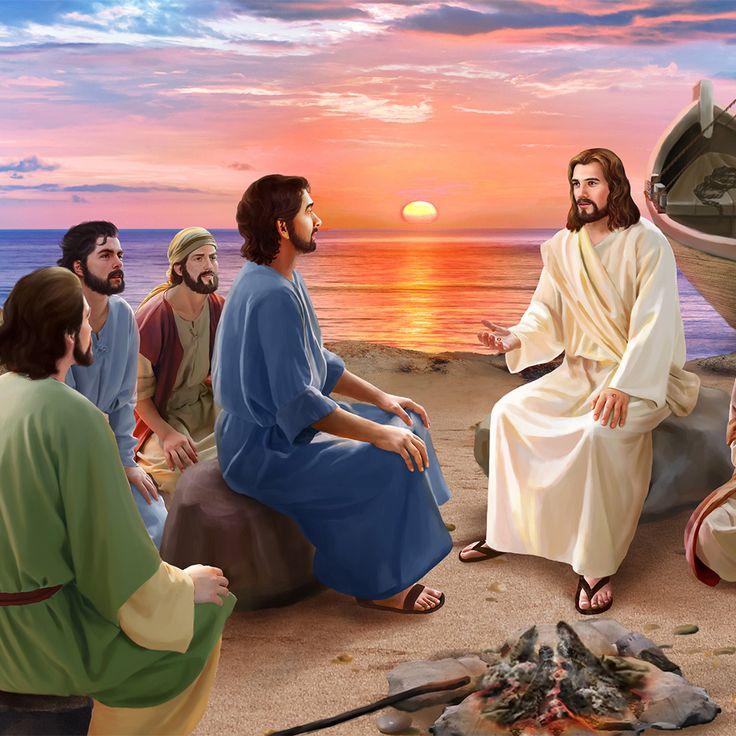 картинка иисус смотрит на землю человека может