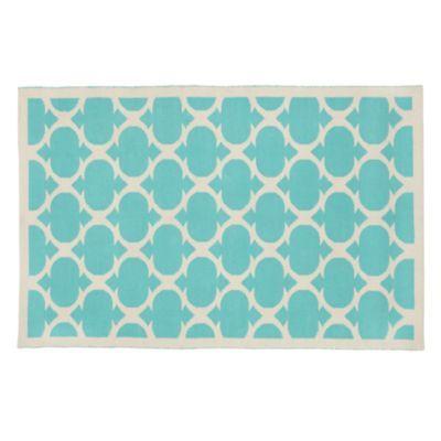 Magic Carpet (Non-Flying Edition, Aqua)  | Crate and Barrel/land of nod. Love this rug