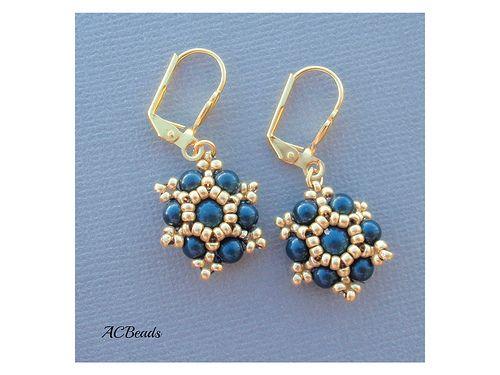 46 best Bead - Earrings - Rivoli images on Pinterest   Earrings ...
