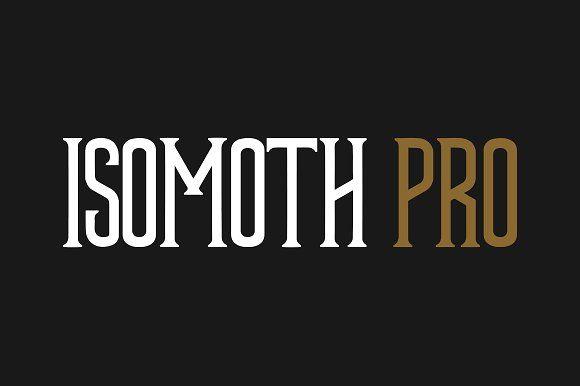Isomoth Pro by Esquivel Type Foundry on @creativemarket