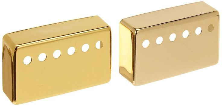 1-set(2pcs) Humbucker Neck & Bridge Guitar Pickup Covers Gold High Quality