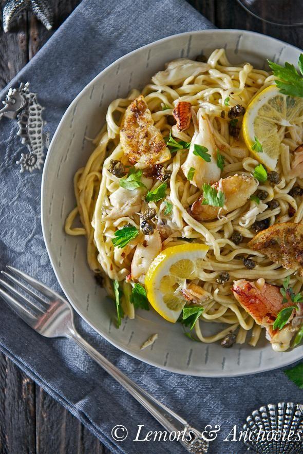 Dungeness Crab Pasta Recipe : Pasta Recipe ...