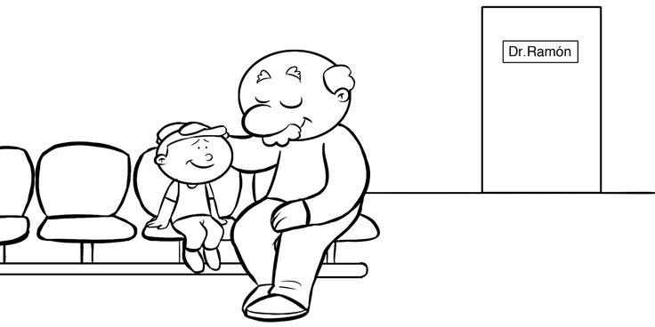 familia con abuelos para colorear - Buscar con Google