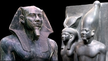 Agents of the Gods  During the Old Kingdom era, kings of Egypt began to emphasize their divine associations and their people believed them to be manifestations of the god Horus. After the time of Khufu, kings were also proclaimed to be sons of the great sun god Re. After his death, the king became associated with Osiris, father of Horus and god of the underworld. The king's sacred powers were passed on to the new ruler - usually his son.