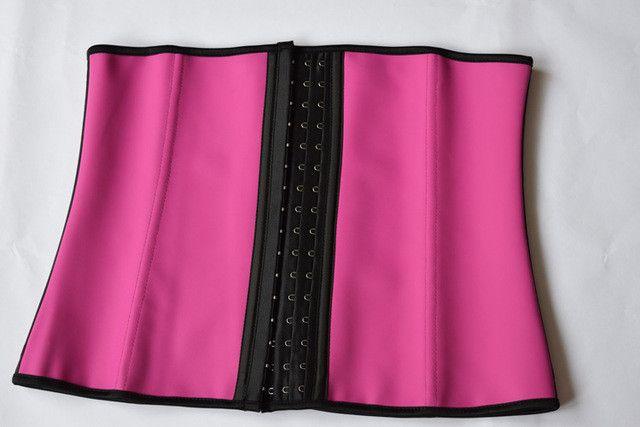 slimming sheath women gaine amincissante corset slimming latex waist trainers body Shapers girdles women rubber belt belly fajas