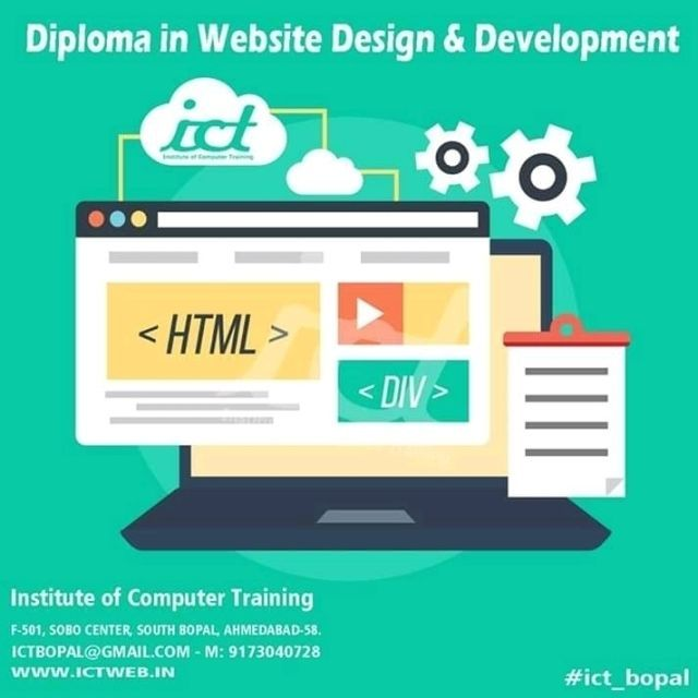 Checkout Ict South Bopal S Trail Sobo Center Ahmedabad On Computer Training Courses Trell Follow Ict So Web Design Company Best Web Design Website Design