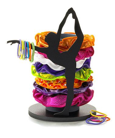 Love this Black Hair Tie Holder by Aerials by Alpha Factor on #zulily! #zulilyfinds
