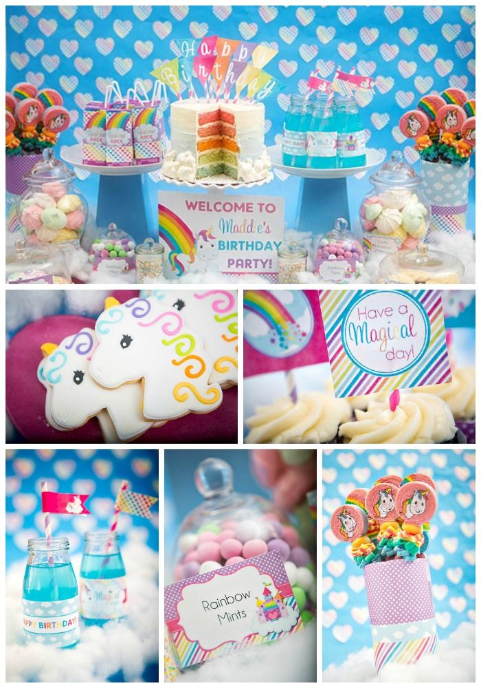 Rainbow Unicorn Birthday Party!