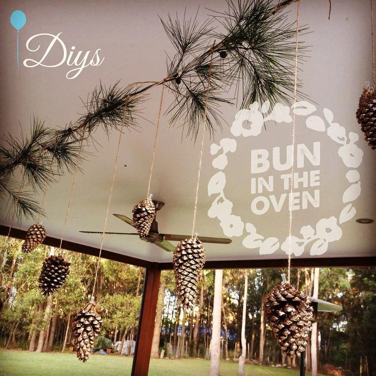Woodland theme baby shower DIYS #diys #diy #woodland #woodlandtheme #partydecor #babyshower #nature #party #partyidea #partyplanning #partyplanner #brisbane #brisbaneparty #queensland #australia