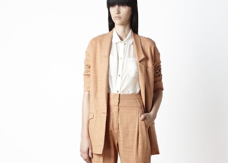 Suzanne Rae Debuts SS13 At Henrik Vibskov Combining Classic Style With Innovative Minimalism