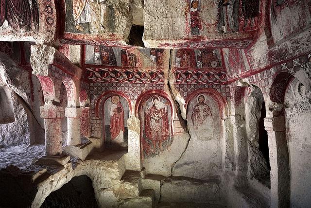 Ahmet Ertug, Meryem Ana Kilisesi (Church of the Mother of God) Turkey, Capadocia. First half of the 11th century AD by mooonriver, via Flickr