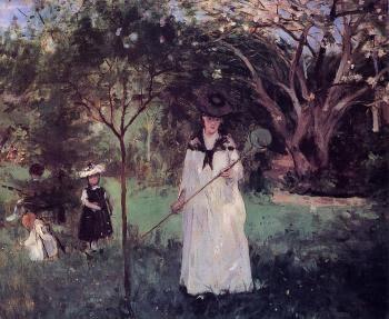 Chasing Butterflies - Berthe Morisot - The Athenaeum