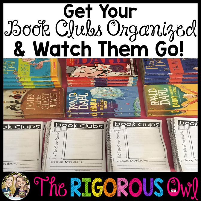 How to organize your book clubs and watch your students succeed!