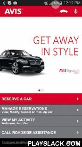 Avis Car Rental  Android App - playslack.com ,  The Avis Car Rental app helps you reserve a car easily and manage your car rental reservations from anywhere.Whether you need a car at an airport location or a neighborhood location, the Avis app makes the process seamless..Avis app features;* Find your nearest Avis Car Rental locations, hours of operation, addresses and phone numbers.* Make, modify or cancel USA and International reservations 24/7.* Avis Preferred members can earn Avis…
