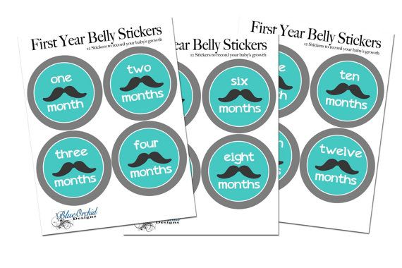 Check out this item in my Etsy shop https://www.etsy.com/ca/listing/241445118/moustache-belly-stickers-baby-boy