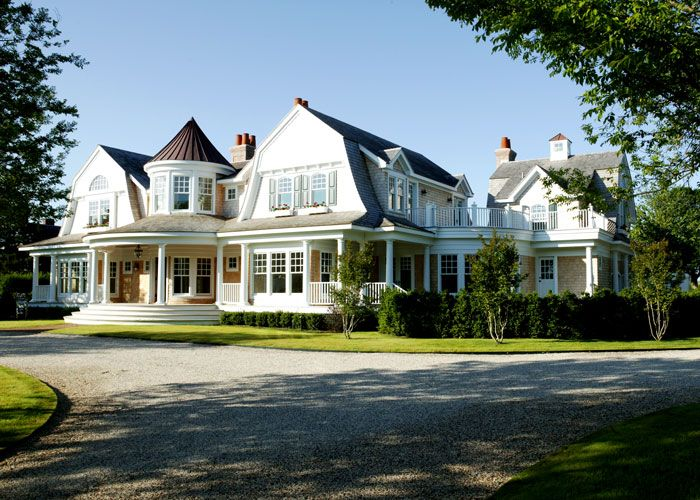 Michael J. Fox's $6300000 Million Southampton Home  Michael J. Fox, wife Tracy Pollan, and their four children are moving into this gorgeous Gambrel shingle-style, traditional home in Quogue, an incorporated village inside Southampton, New York. According to Newsday's Real LI blog, they paid 6.3 million for the 6 bedroom, 7.5 bath home (it had been on the market for 7.25 million, so they got a deal)