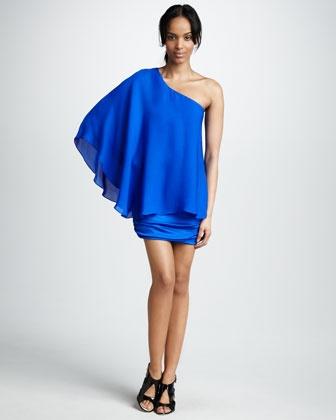 Candill One-Shoulder Dress - Neiman Marcus