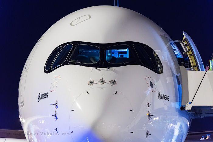 Промо рейс A350 в Шереметьево