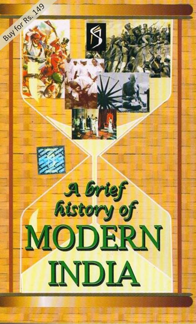 Buy A Brief History Of Modern India book online for Rs.165 here. You can use internet banking, credit card, debit card or cash on delivery (COD) option to pay for the book.  The book A Brief History Of Modern India is the stroy of India from 1857 Revolt to The Evolution of Nationalist Foreign Policy. An interesting book to know about India and to increase knowledge.