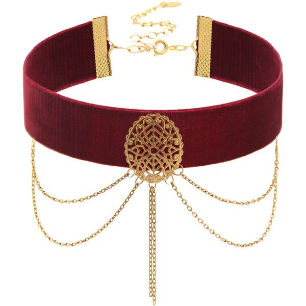 Filigree Velvet Choker (€34) ❤ liked on Polyvore featuring jewelry, necklaces, choker, accessories, velvet choker, filigree necklace, velvet jewelry, choker jewelry and velvet choker necklace