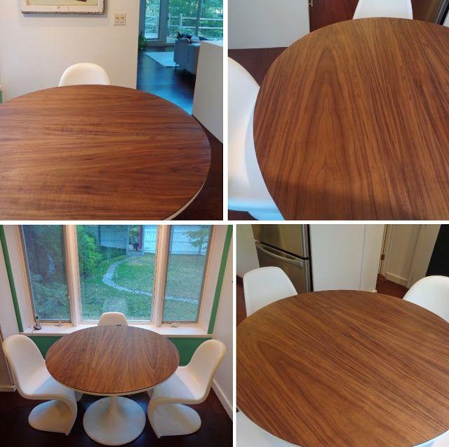 Add Wooden Top To An Ikea Docksta Diy Project Ideas