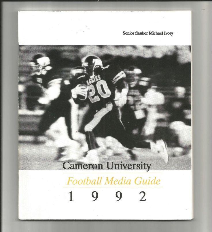 college football media guide: 1992 cameron university aggies oklahoma ncaa ii from $0.99